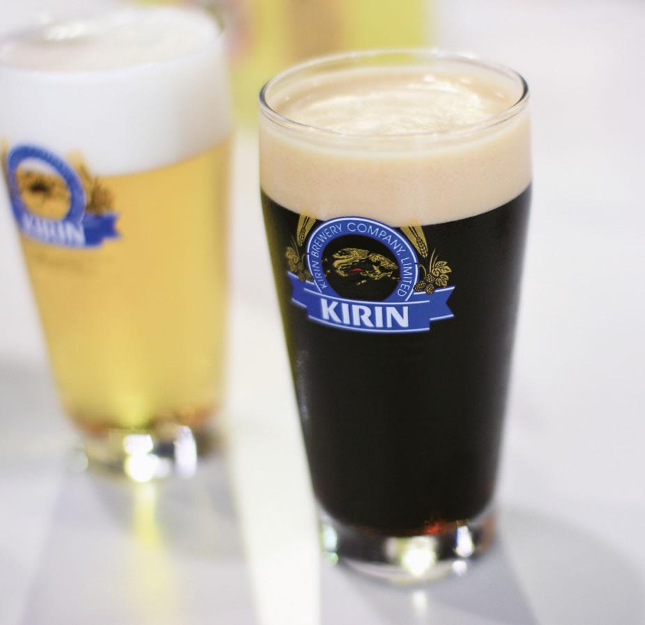 Kirin beer garden taster