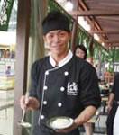 日本の飲食業界で10年 以上のキャリアをもつシェフの大久保さん。