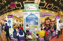 Apple Muslim booth at MATTA Fair March 2014