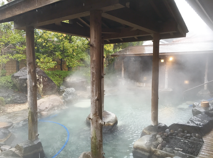 Totori is famous for its onsen.