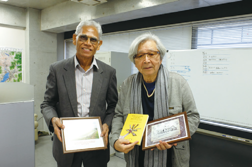 With director Yoji Yamada.