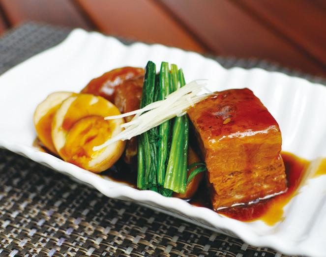 間違いなくお酒に合う「豚の角煮(RM19)」。