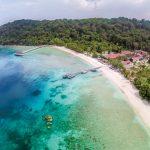 2 nights 3 days holiday package in Summer Bay Resort Lang Tengah Island in Terengganu for 2pax