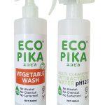【AQUA GREEN TECH】ECO PIKA & ECO PIKA Vegetable Wash 1 bottle each