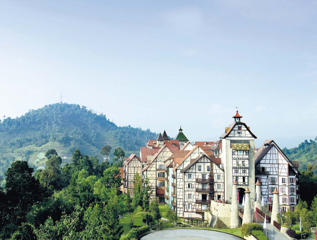 Berjaya Hills - Colmar Tropicale / The Chateau Spa & Organic Wellness Resort