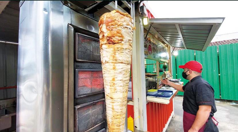 Shawarma @ The Shed